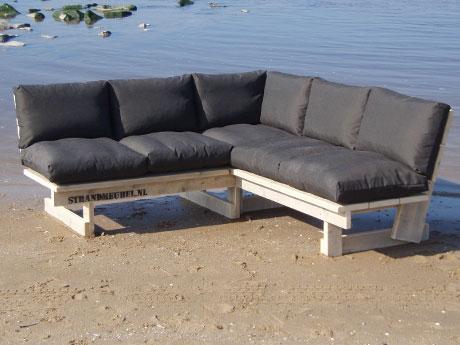 steigerhouten meubelsets met kussens strandmeubelnl